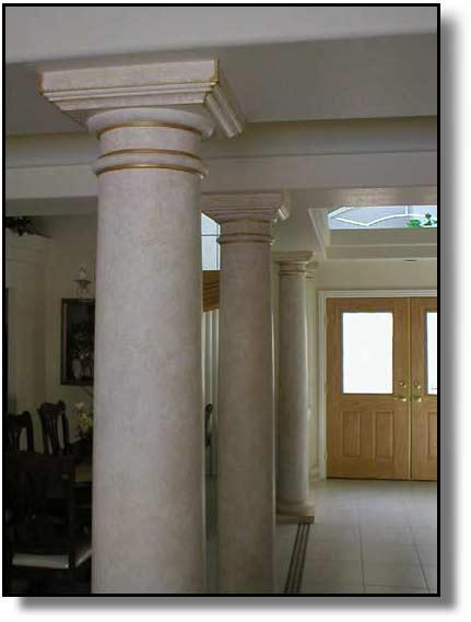 Faux Stone Columns : Faux stone columns roselawnlutheran